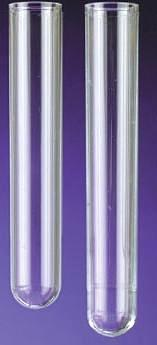 12 x 75 mm Polypropylene Test Tubes, 2000/pk