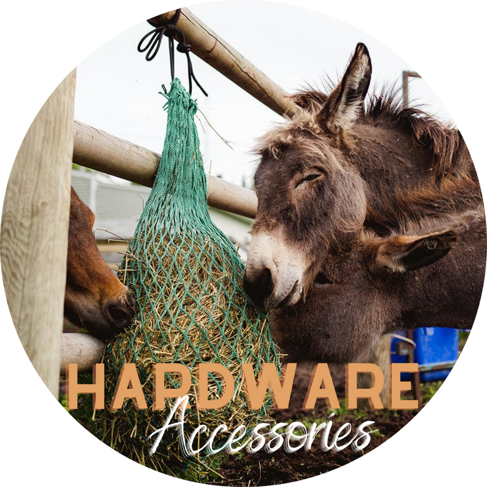 """Simulates Grazing Majestic Ally 2 pcs Slow Feed 56/"""" Hay Net for Horses Reduces Waste Strong Soft Mess 3x3/"""" Holes Nylon Rope Hanging Adjustable Travel Feeder for Trailer and Stall"""