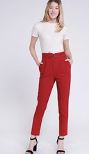 Rusty Wine Ponte Trousers