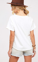 Ivory Love America Graphic Top