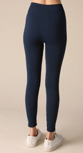 Navy Seamless Leggings