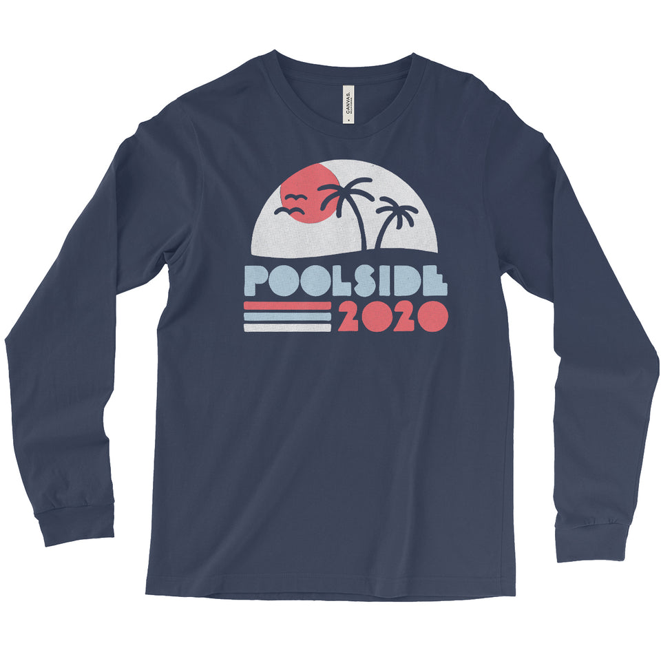 Poolside 2020 Unisex Long Sleeve Tee