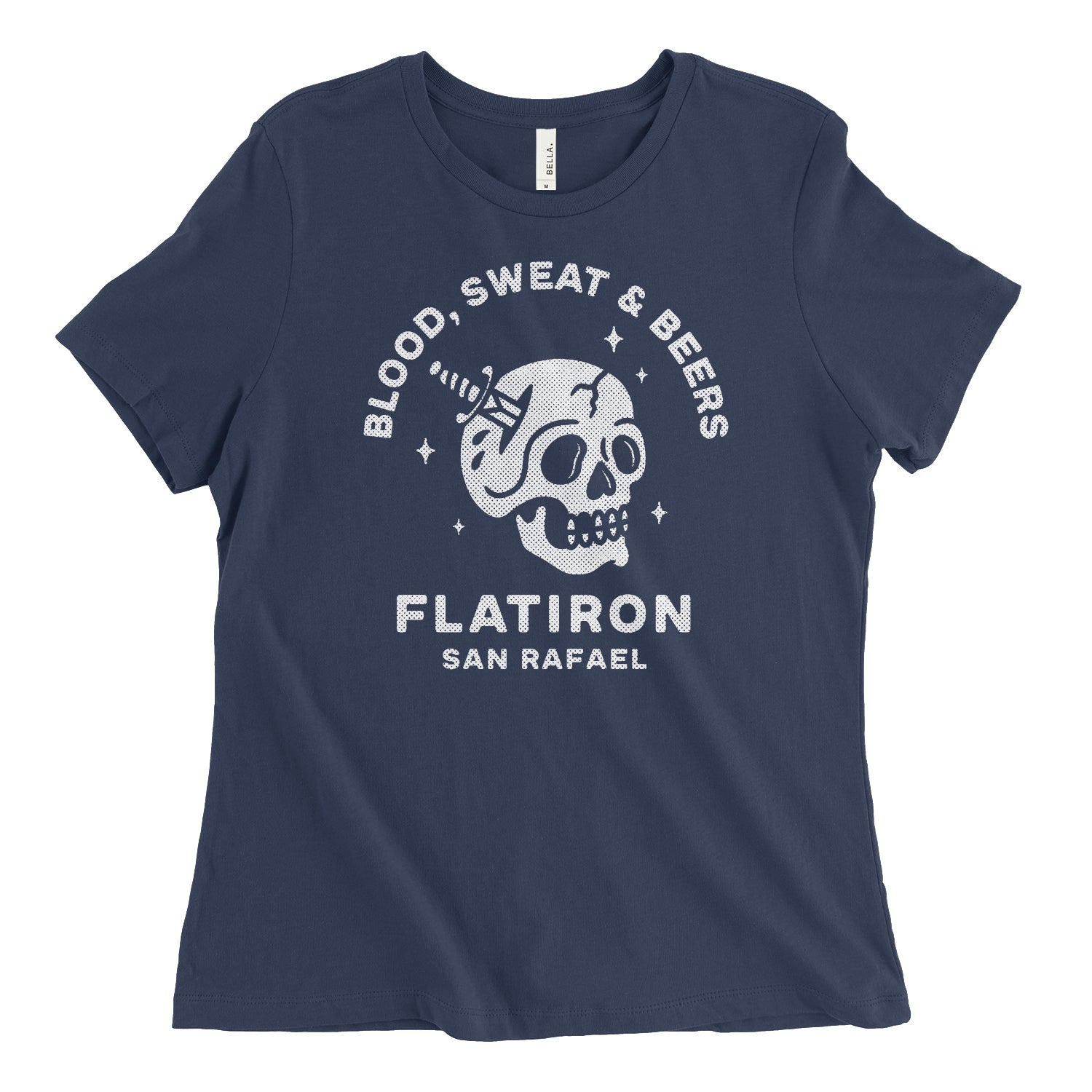 Blood Sweat & Beers Womens Relaxed Tee