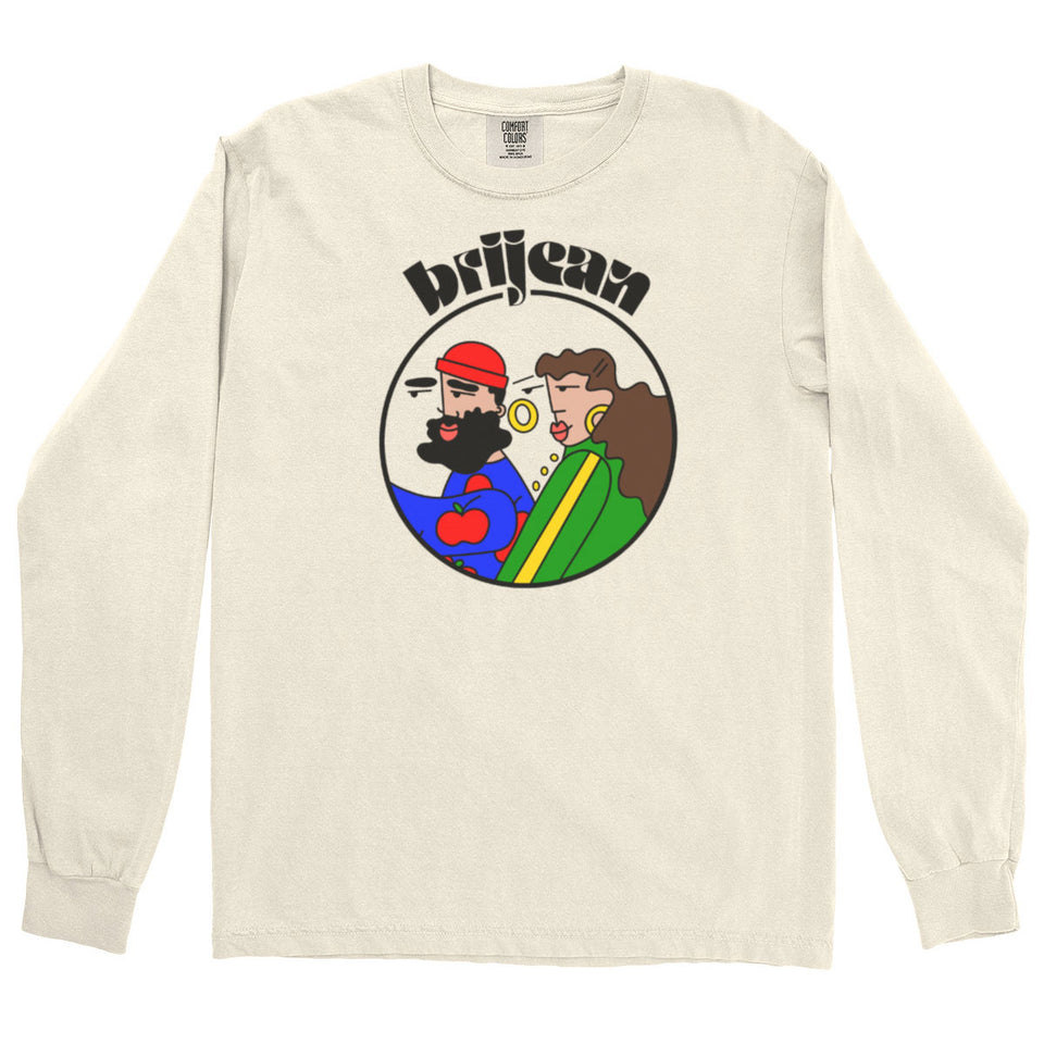 Brijean Long Sleeve Unisex Tee