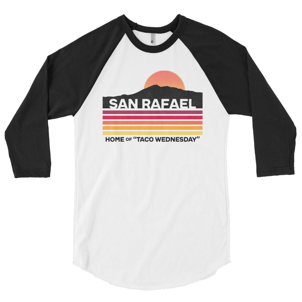 Taco Wednesday Baseball Raglan