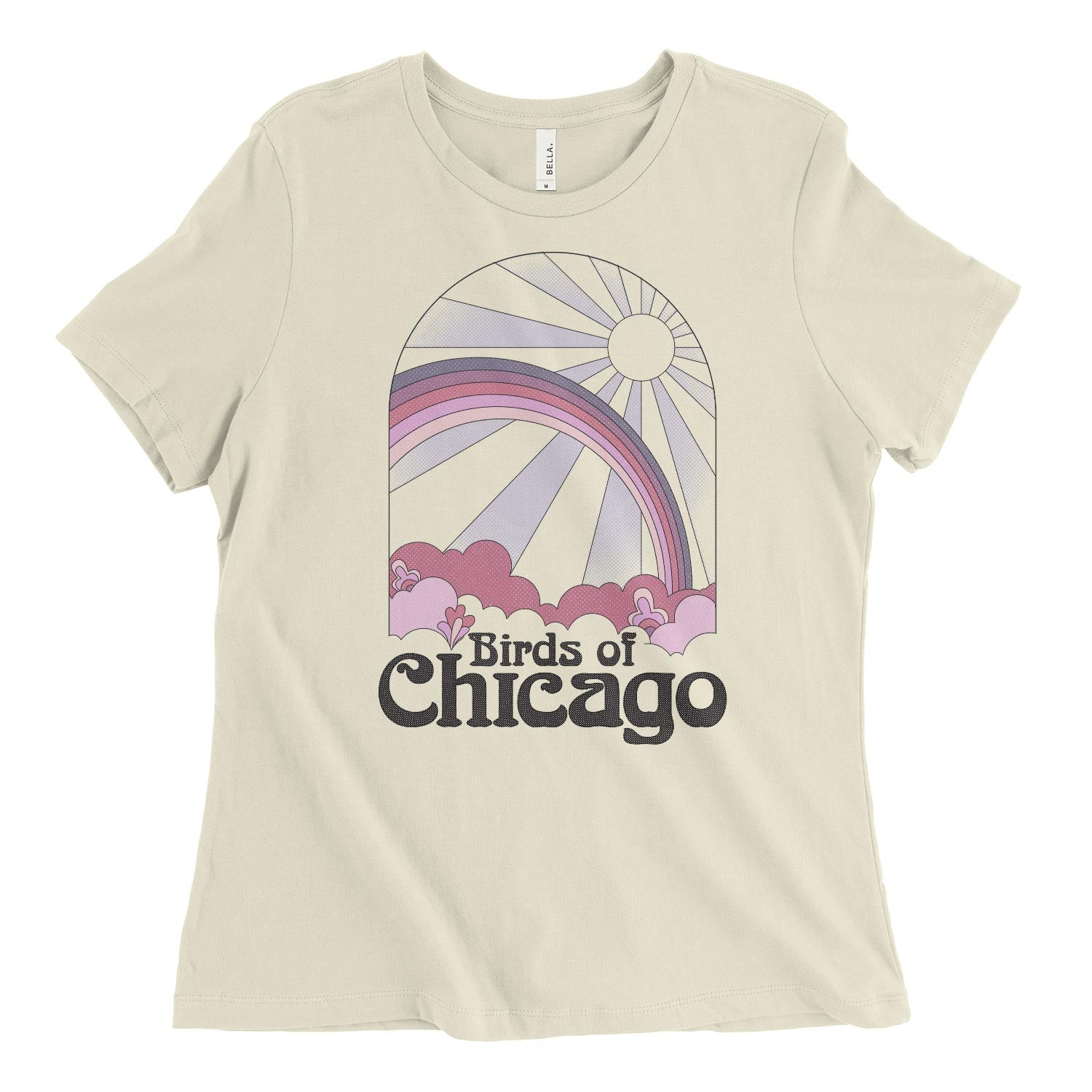 Rainbow Womens Relaxed Tee