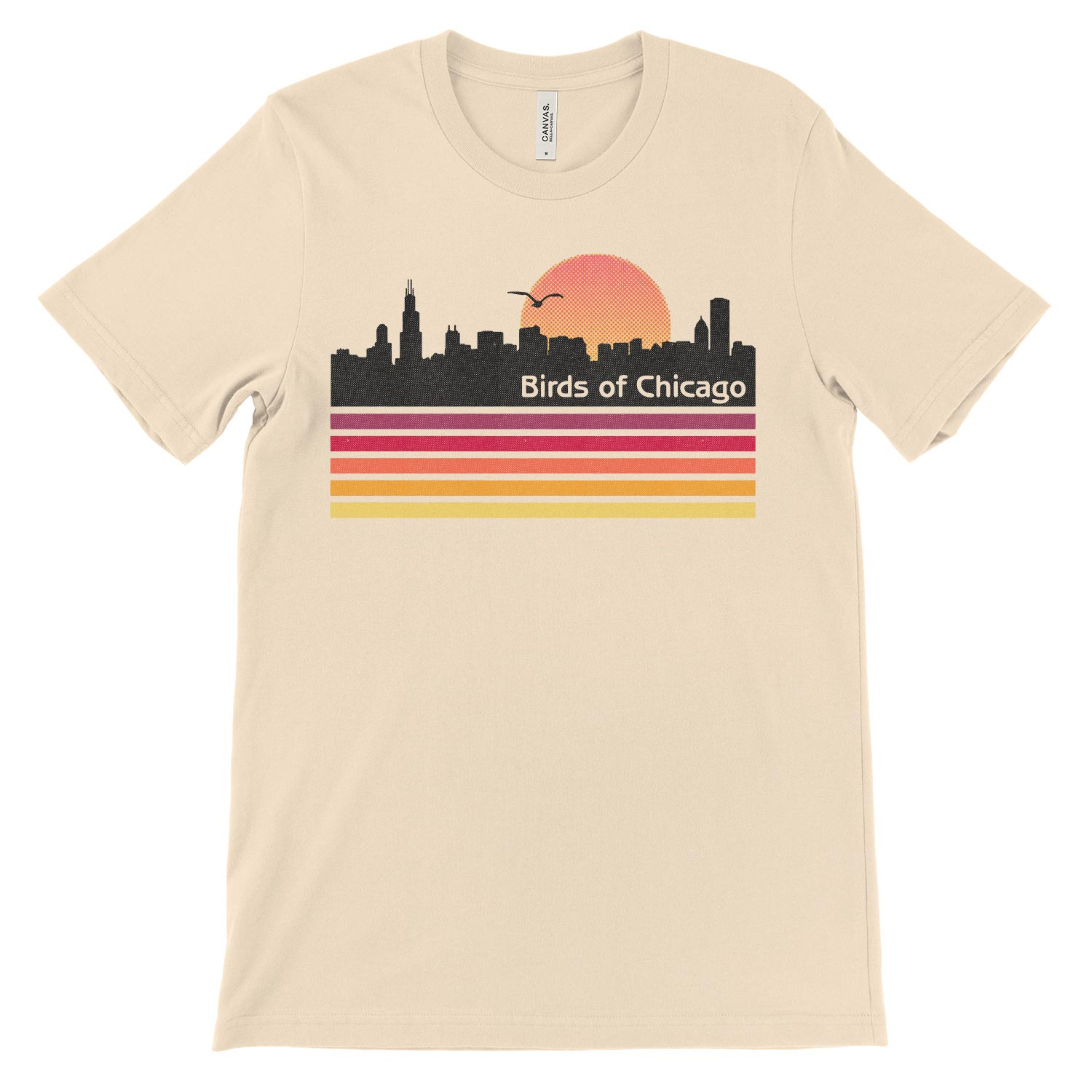 Chicago Skyline Unisex Tee