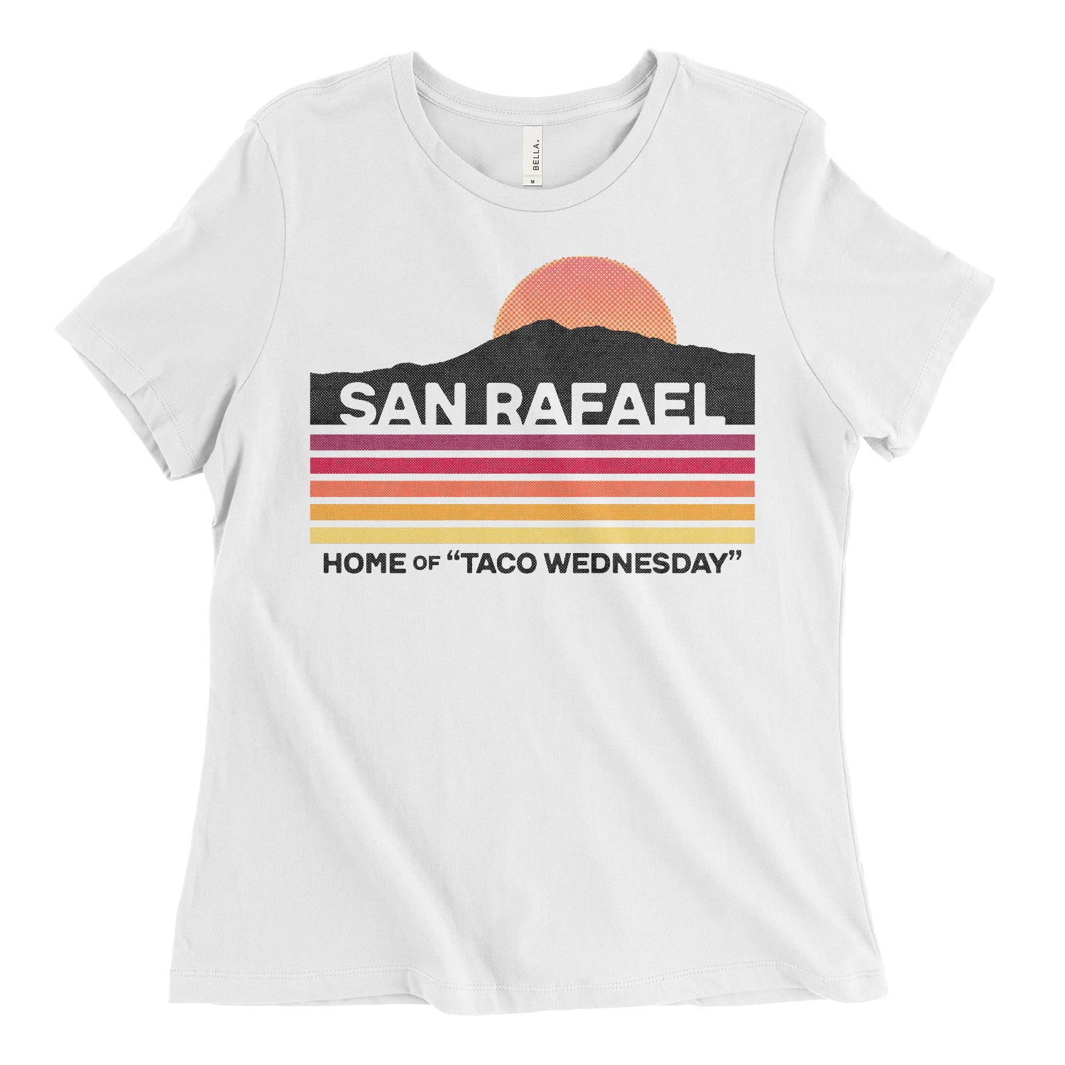 Taco Wednesday Womens Relaxed Tee