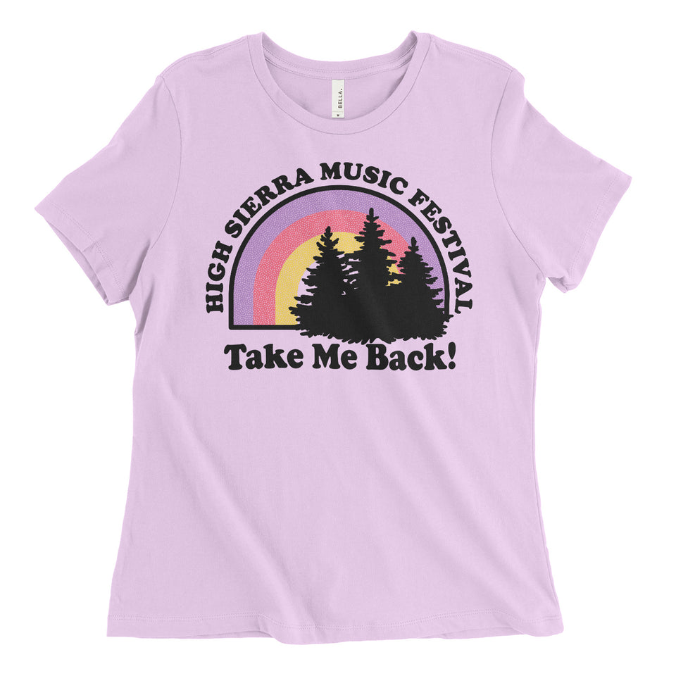 Take Me Back Womens Relaxed Tee