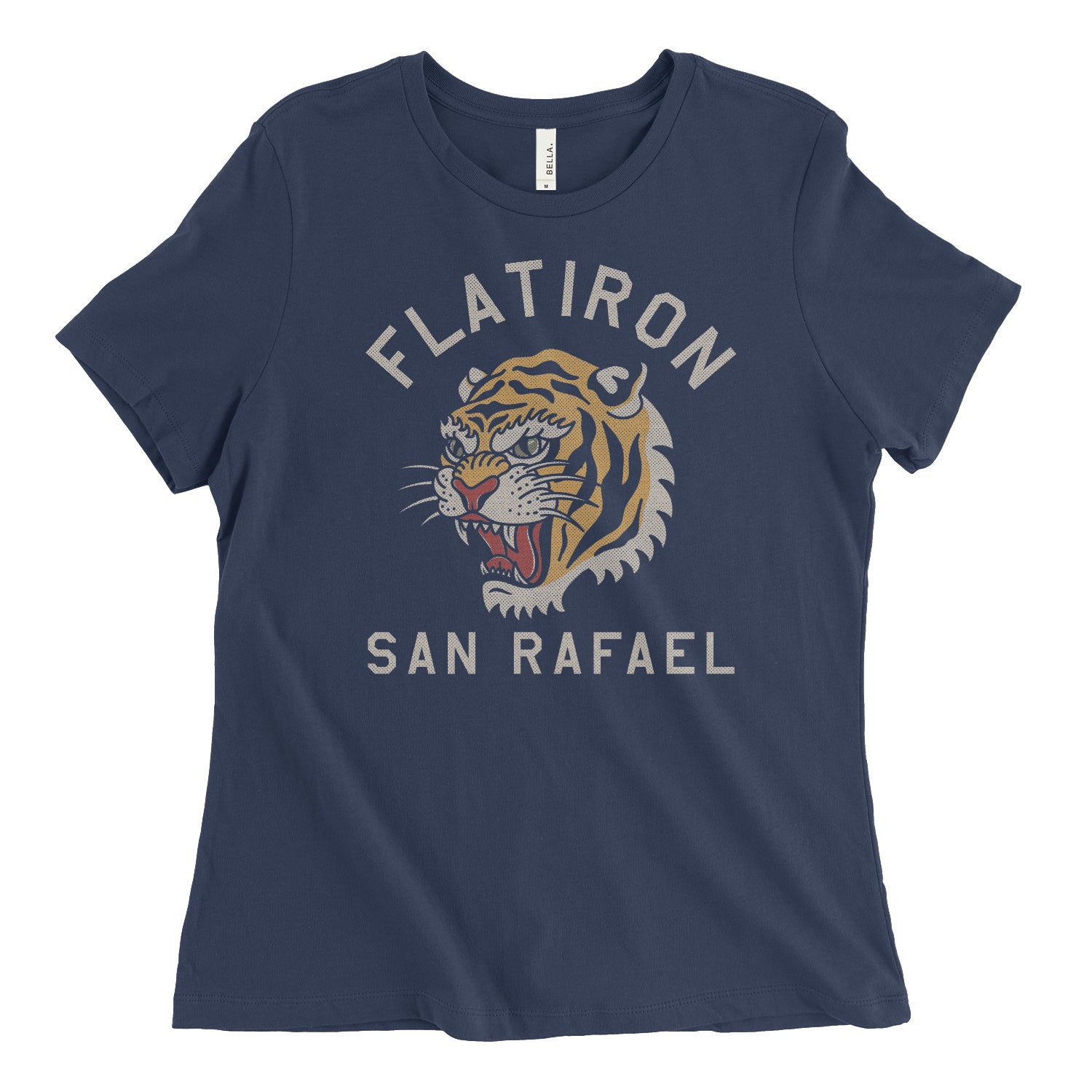 Tiger Style Womens Relaxed Tee