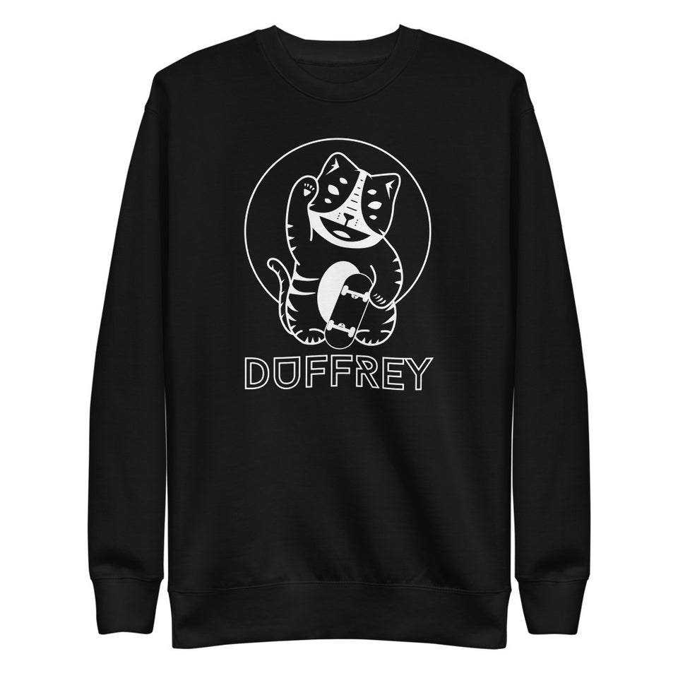 Money Cat Unisex Fleece Pullover