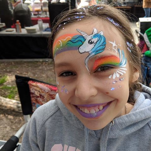 santa monica face painting