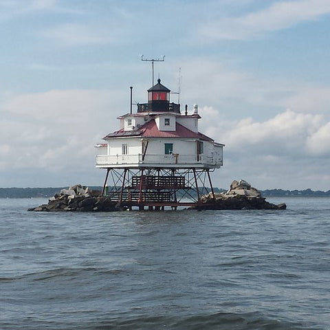 Thomas Point Lighthouse with Hotel Locks