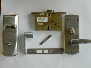 Kaba Ilco 770 Electronic Hotel Room Lock Satin Chrome USED