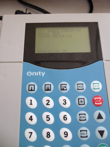 Onity HT22m Front Desk Motorized Encoder USED