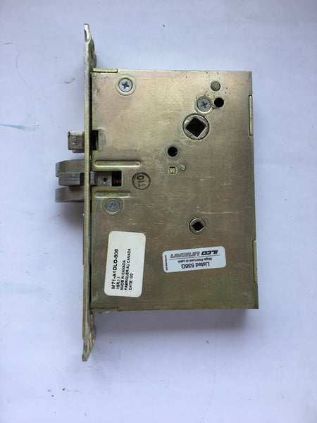 Kaba Ilco 710 Lock Satin Brass Electronic Hotel Room Lock USED