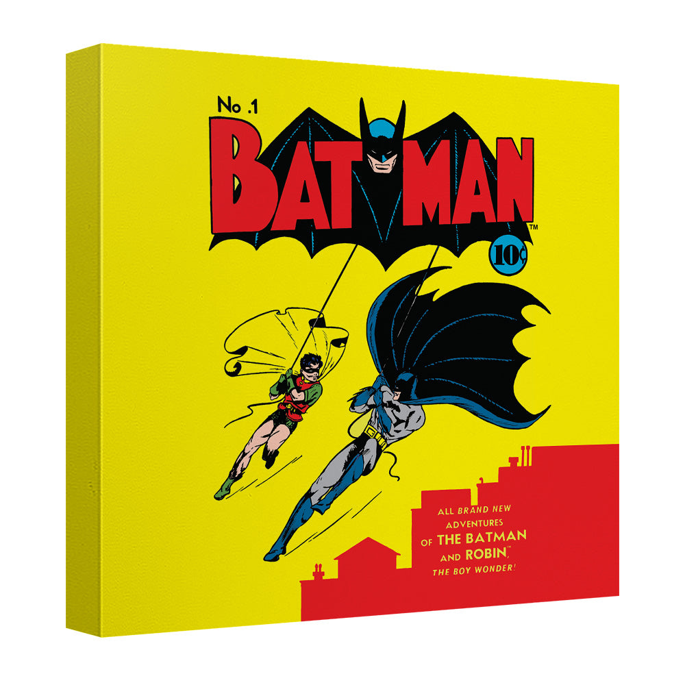 Batman - Cover No 1 Canvas Wall Art With Back Board – I Freaking ...