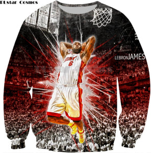 PLstar Cosmos Drop shipping 2018 New Fashion Sweatshirt Men Women Hoody  Celebrities LeBron James 3d Print 4267c511b0