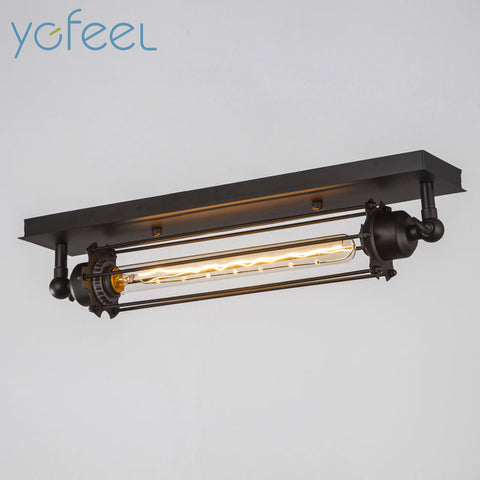 [YGFEEL] Village Retro Ceiling Lights American Industrial Style Ceiling Lamps Bar Cafe Restaurant Corridor Lighting E27 Holder