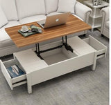 Multifunctional lifting tea tables and chairs