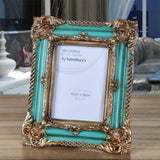 2017 American style resin photo frame fashion swing sets photo frame vintage photo frame gift home decoration