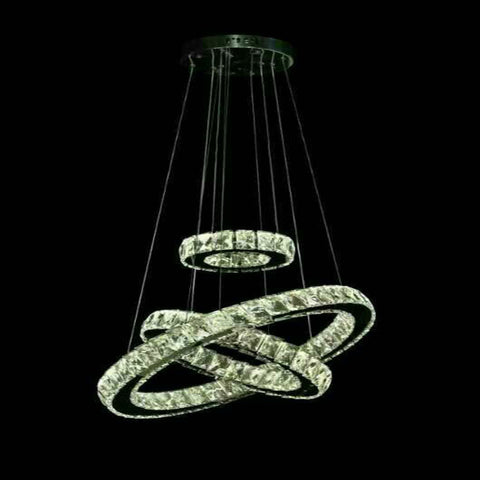 New Design Crystal chandelier LED lights for living room bedroom modern Pendant lamp Indoor LED lighting lampara colgante de