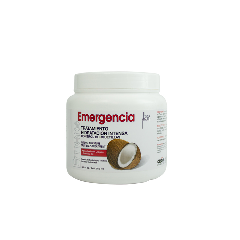 Emergencia - Coconut Intensive Moisture Split Ends Hair Treatment 32 oz.