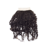 "4""x4"" Closure - Kinky Curl (Silk Based)"