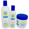K - Organic Keratin Shampoo & Deep Treatment 16 oz., and Leave-In Conditioner 8 oz.