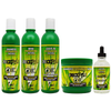BOE - Crece Pelo Shampoo 13.2 oz., Rinse 12.5 oz., Leave-In 12.6 oz., Treatment 16 oz., & Hair Growth Drops 4.25 oz.