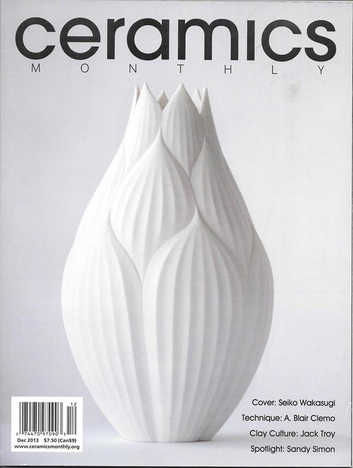Ceramics Monthly Full Feature Article by Emily Young 'Finding a Balance'