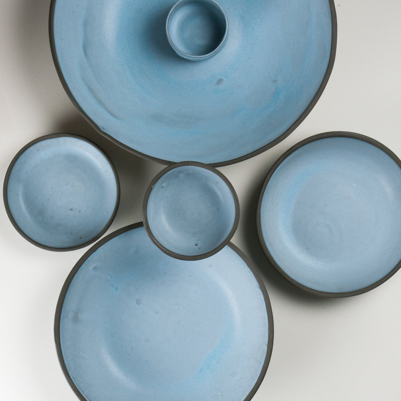 Elements Aqua Blue Bowls 2