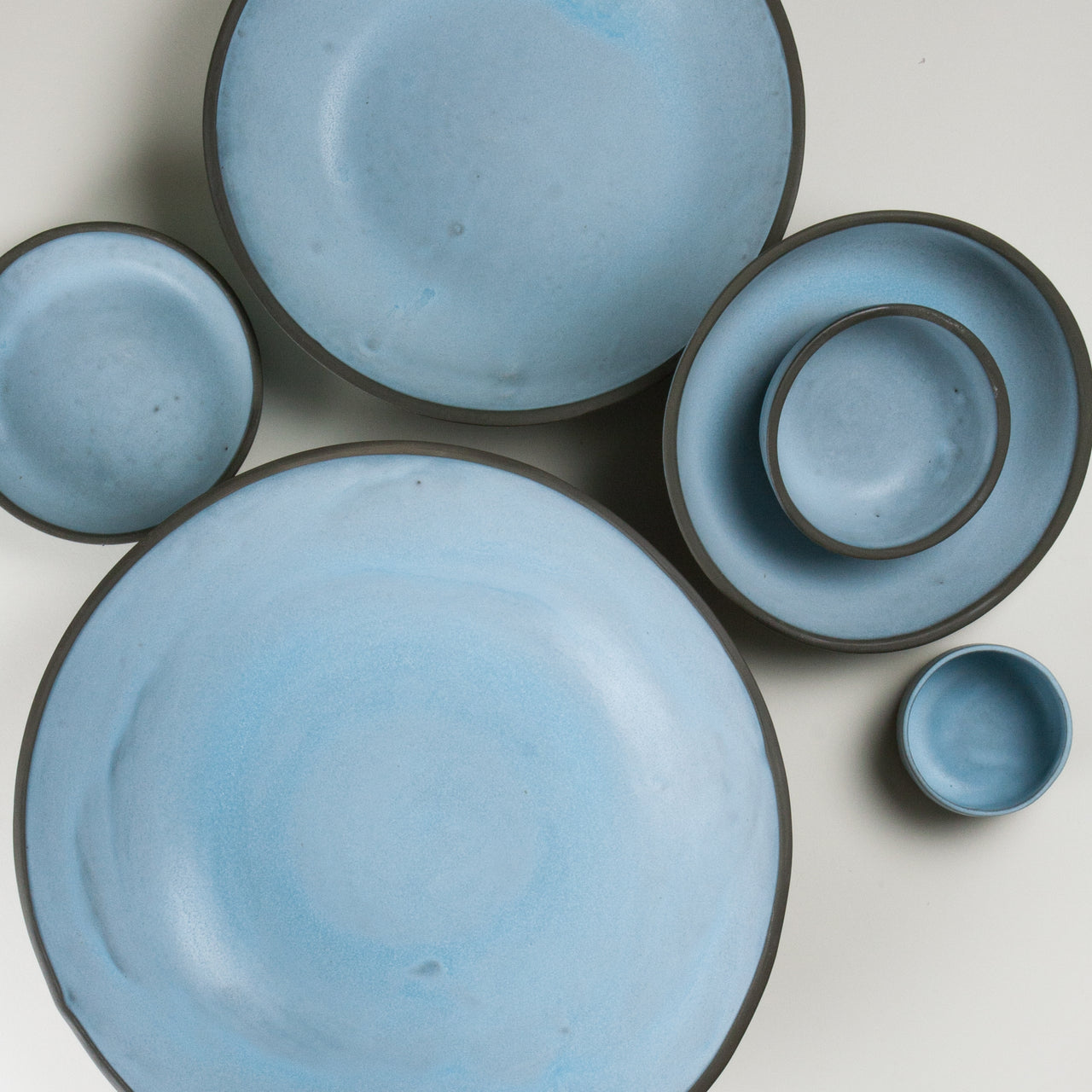 Elements Aqua Blue Bowls 3