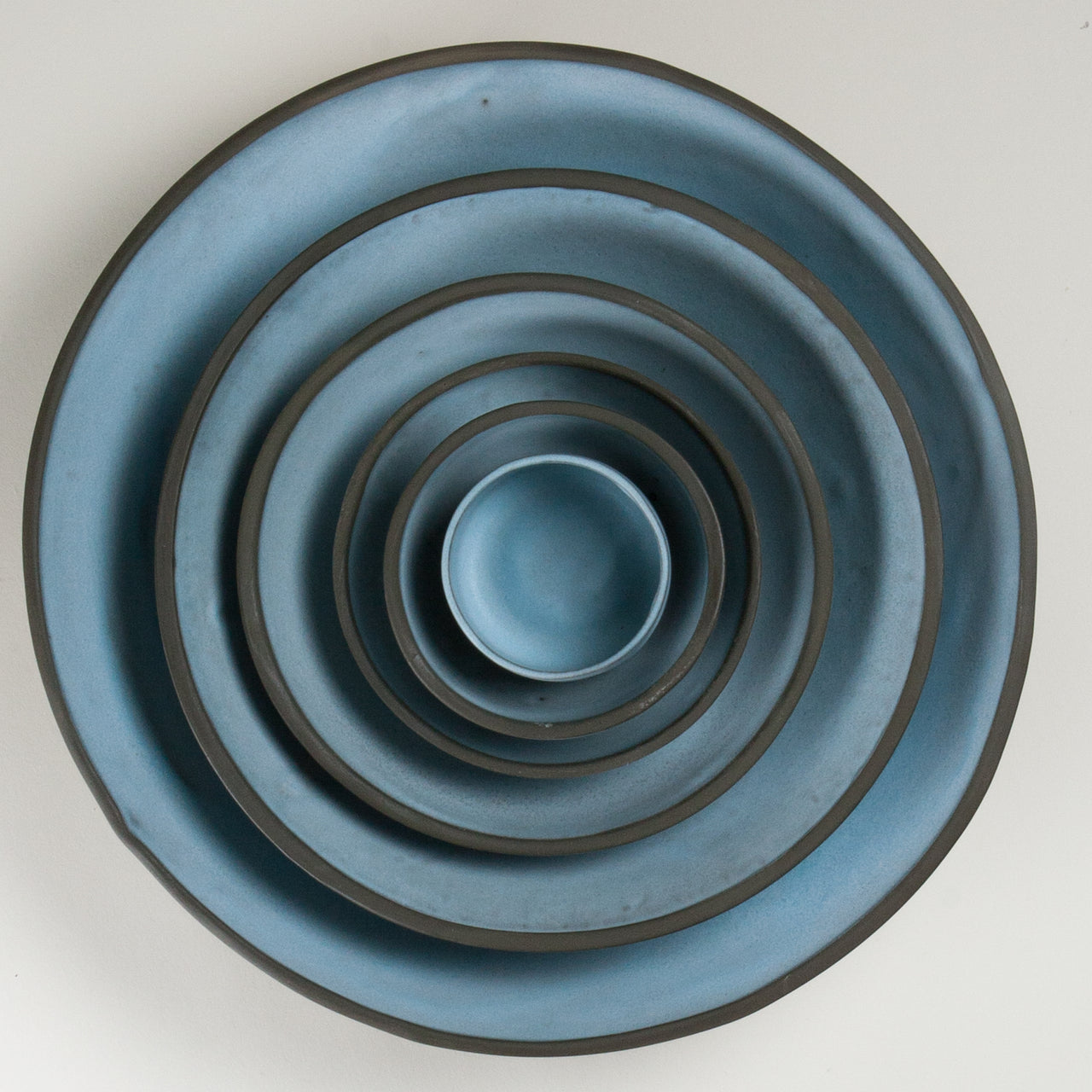 Elements Aqua Blue Bowls