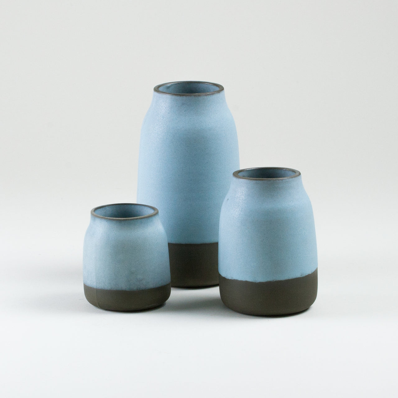 Elements Aqua Blue Milk Jugs
