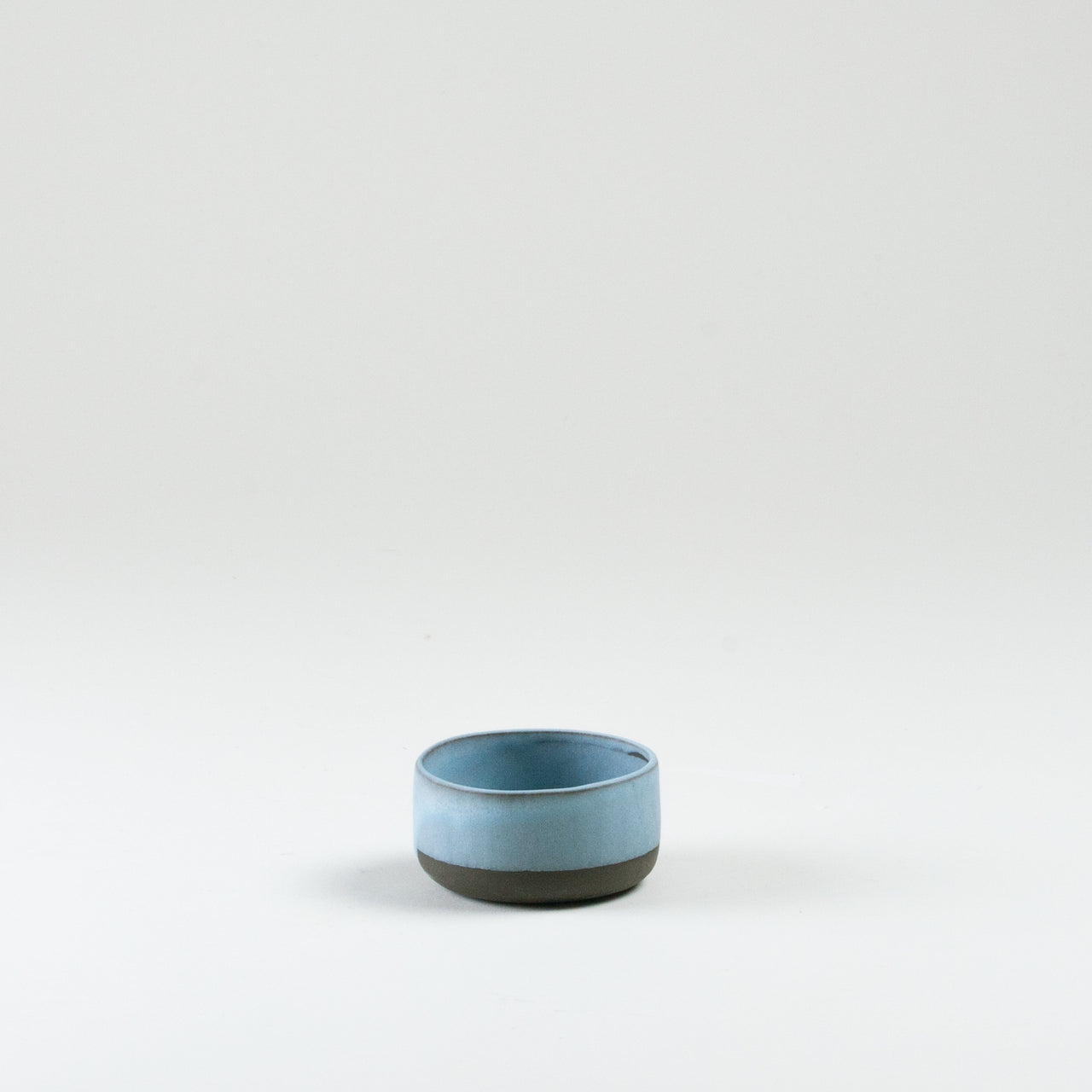 Elements Aqua Blue Sugar Bowl Side Shot