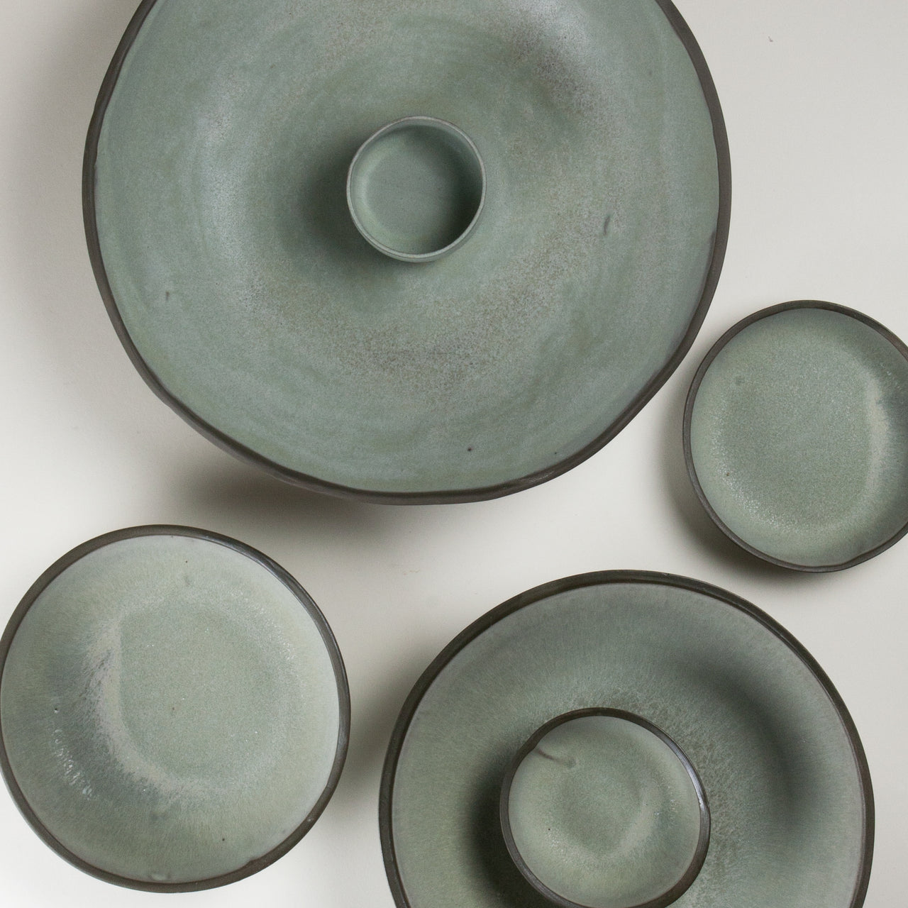Elements French Green Bowls 2