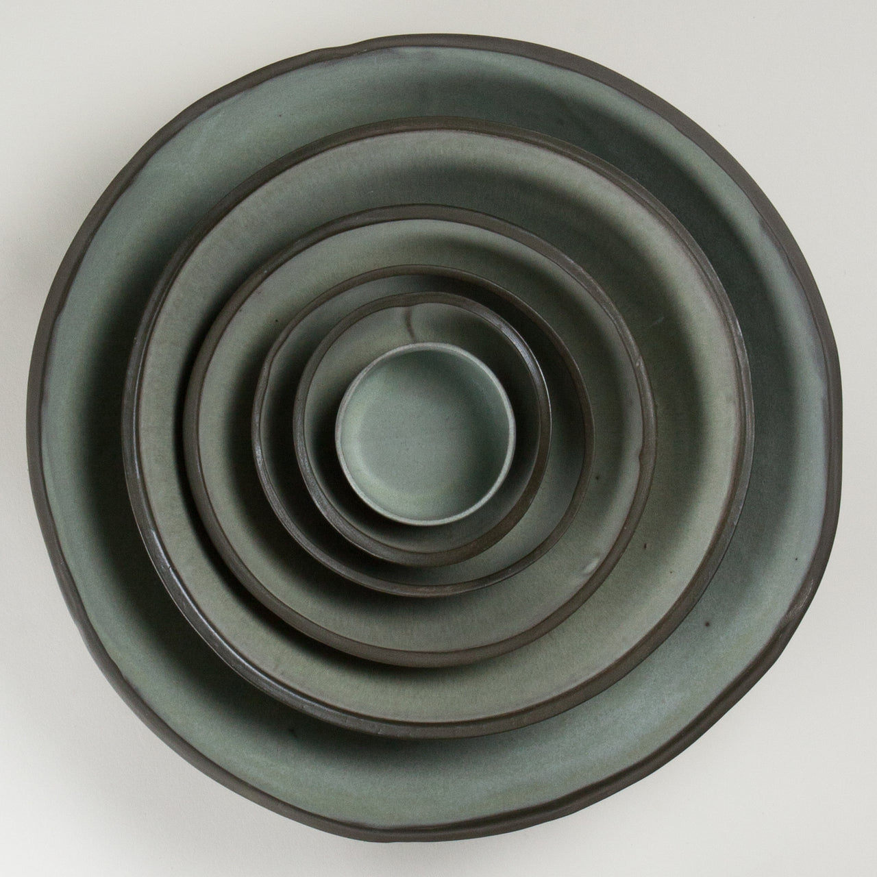 Elements French Green Bowls