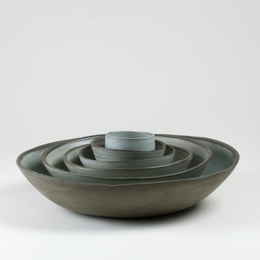 Elements French Green Bowls Side Shot