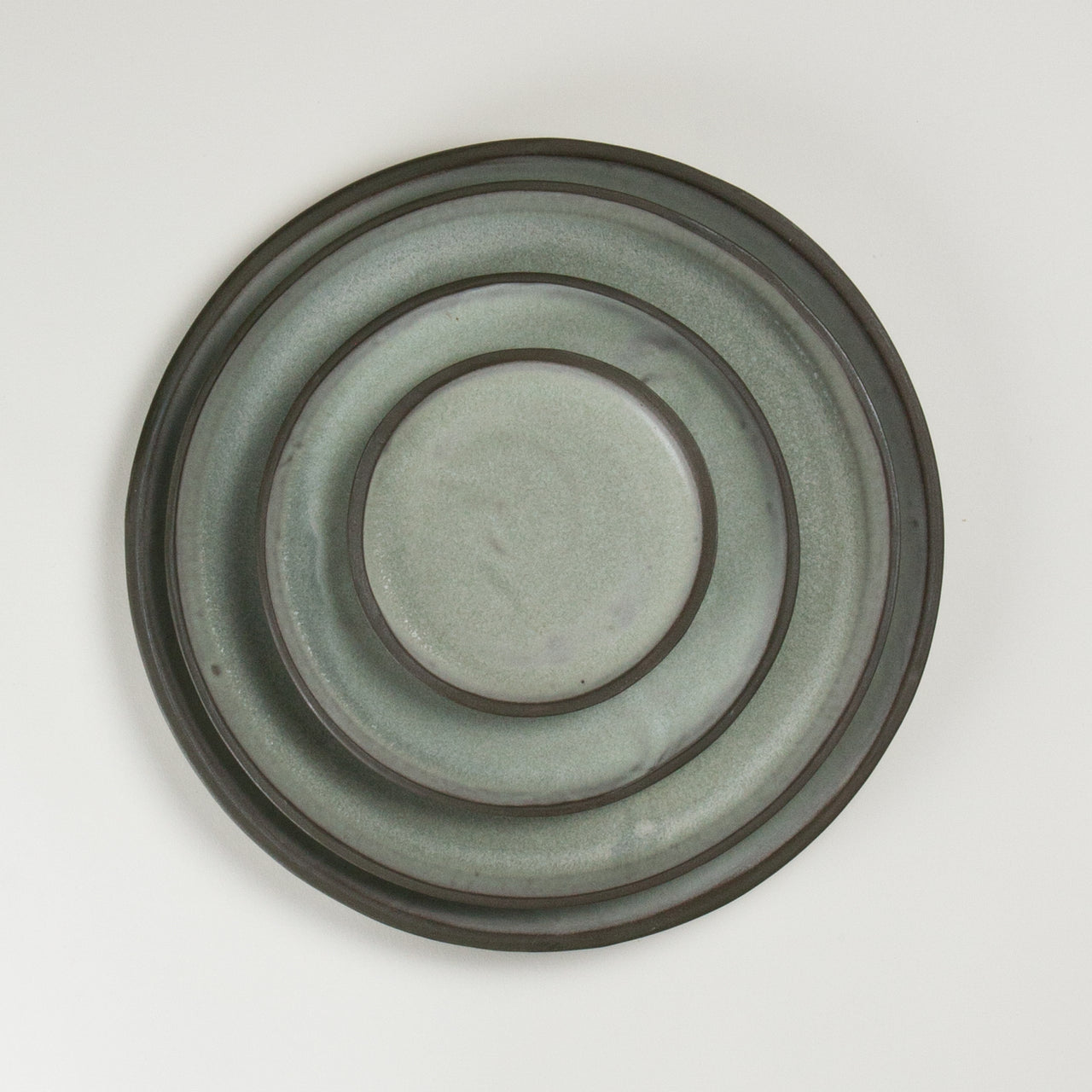 Elements French Green Plates