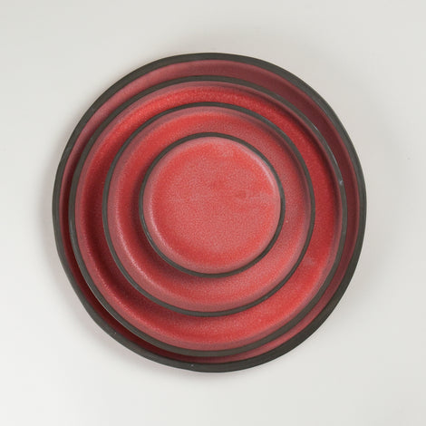 Elements Ruby Dust Plates