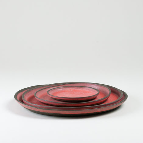 Elements Ruby Dust Plates Side Shot
