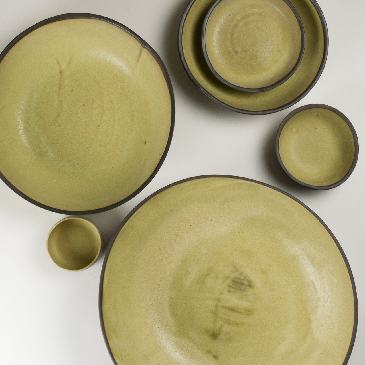 Elements Yellow Ore Bowls 3