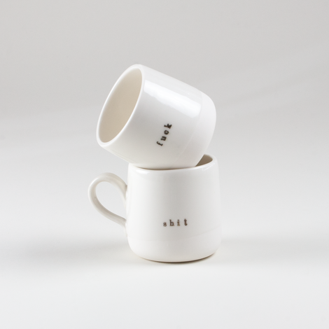 F*ck Plain Cups and Mugs