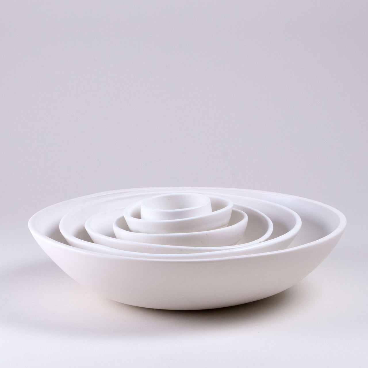 Modernist Bowls Side Shot