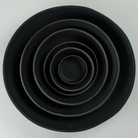 Origins Black on Black Bowls