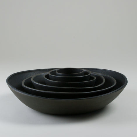 Origins Black on Black Bowls Side Shot