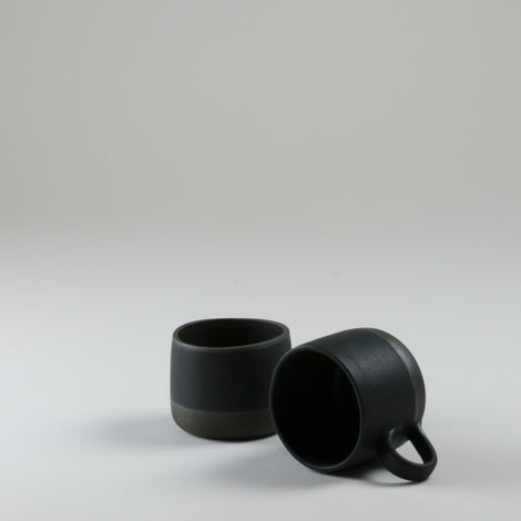 Origins Black on Black Cup and Mug