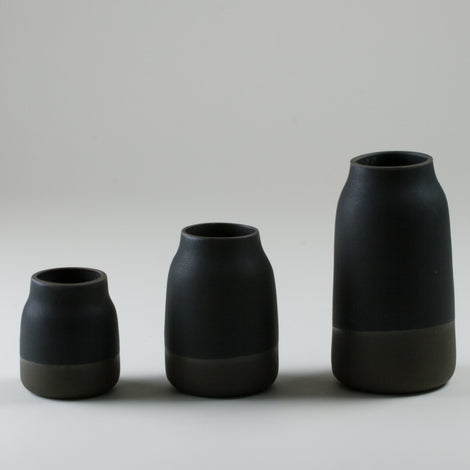 Origins Black on Black Milk Jugs 2