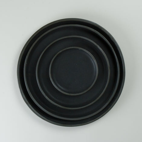 Origins Black on Black Plates